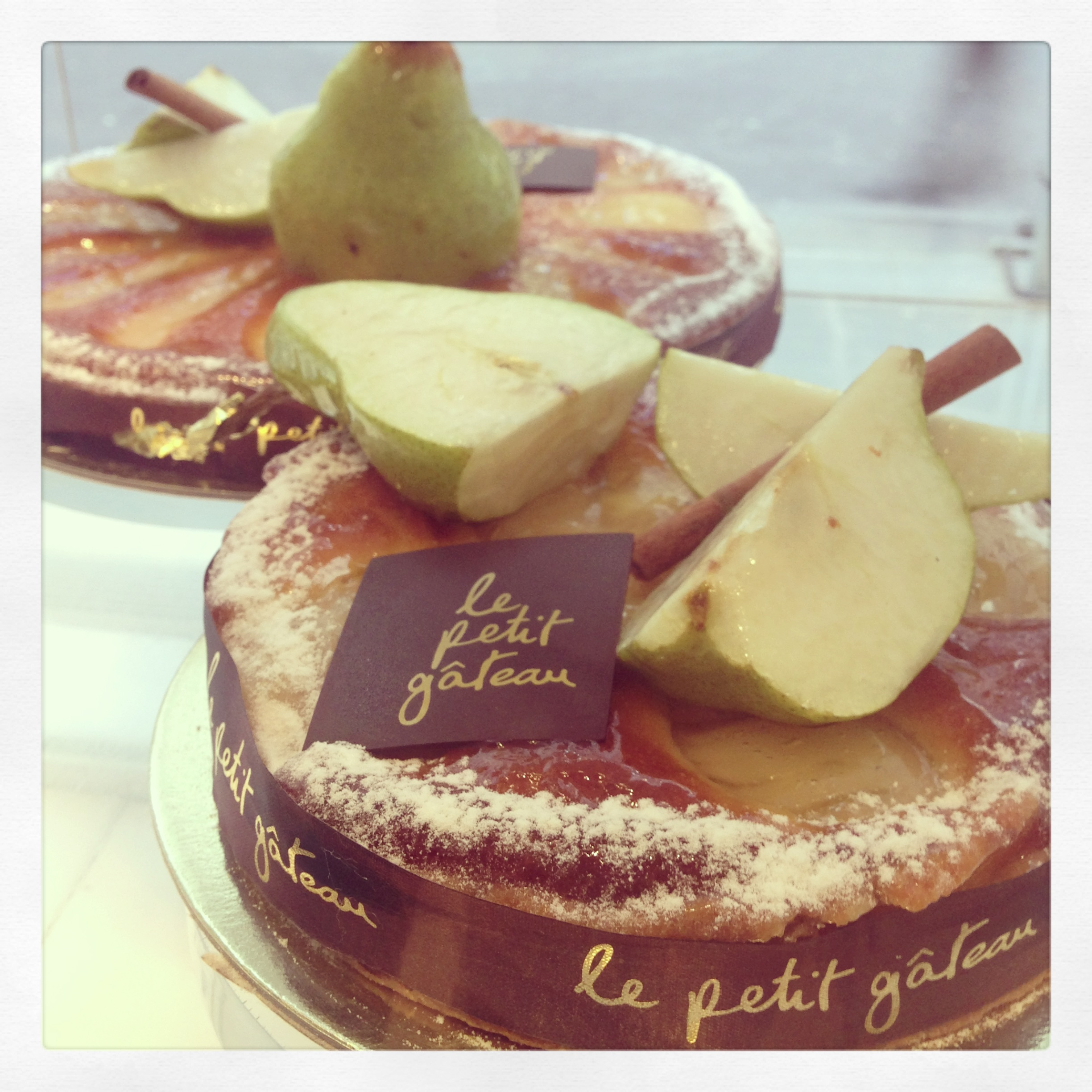 Pear Tart by Le Petit Gateau