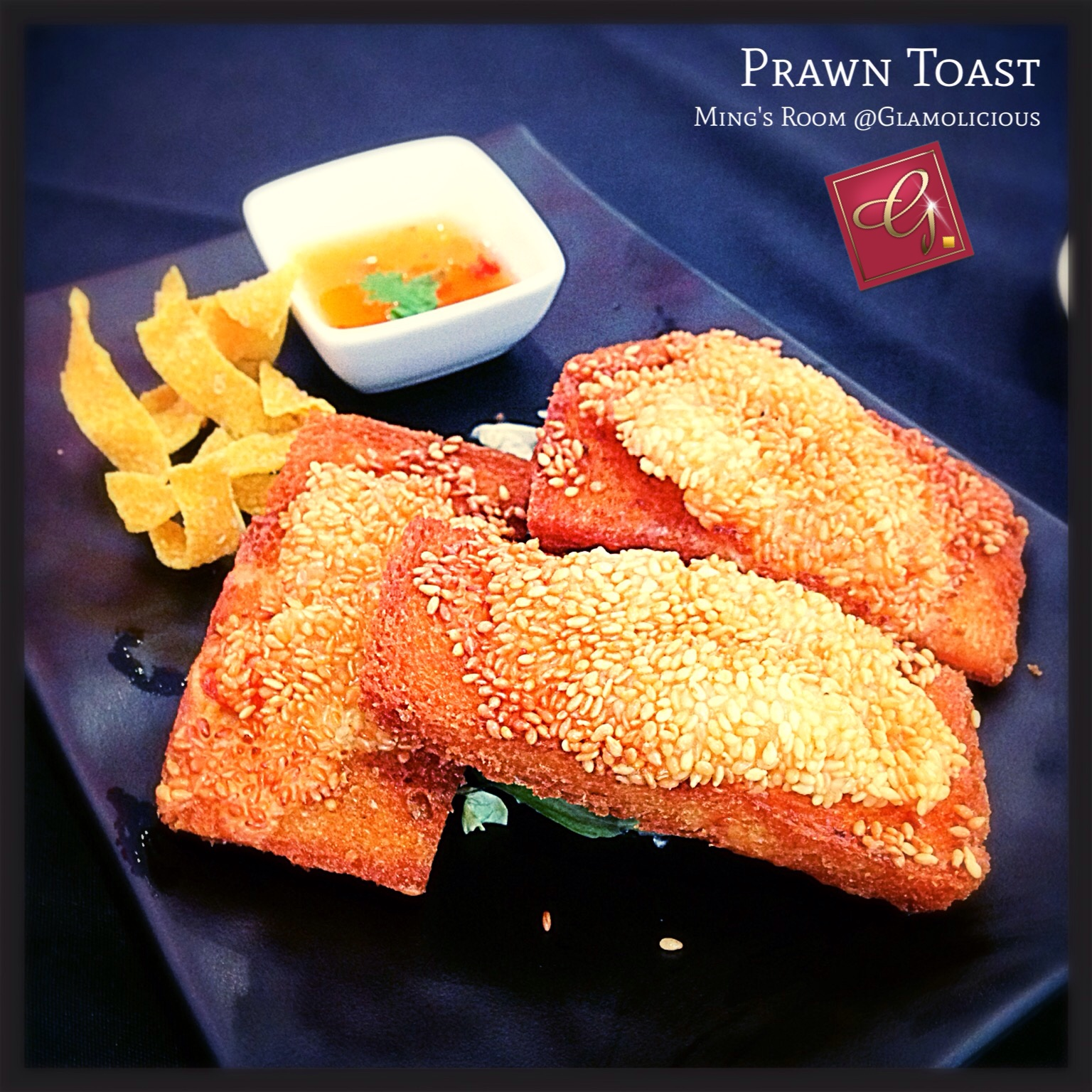 Golden Prawn Toast by Ming Room