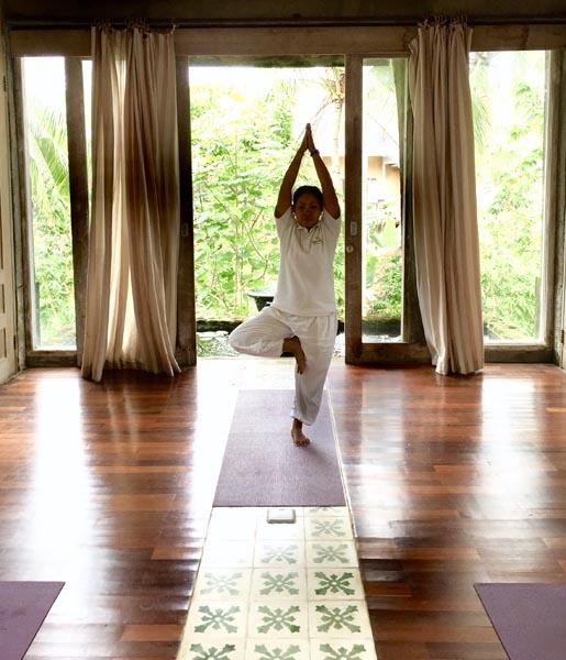 Yoga Master at Wapa di Ume