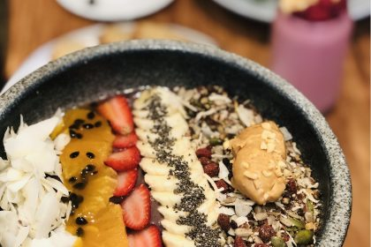 Acai Bowl(GF, VG) from St Rose, All Day Menu